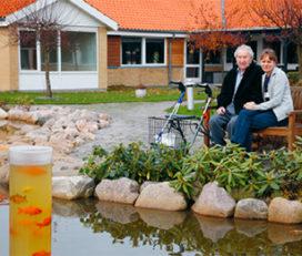 Plejecentret Helenehuset og Skærmet Helenehuset