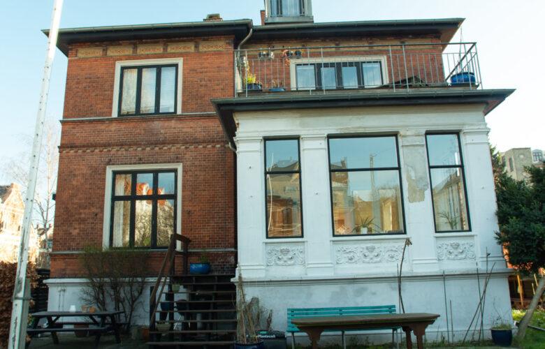 Husene på Frydendalsvej